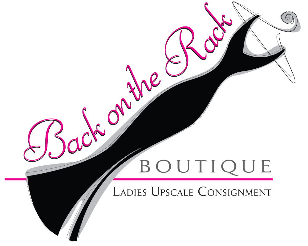 Back On The Rack Ladies Consignment Shop Logo