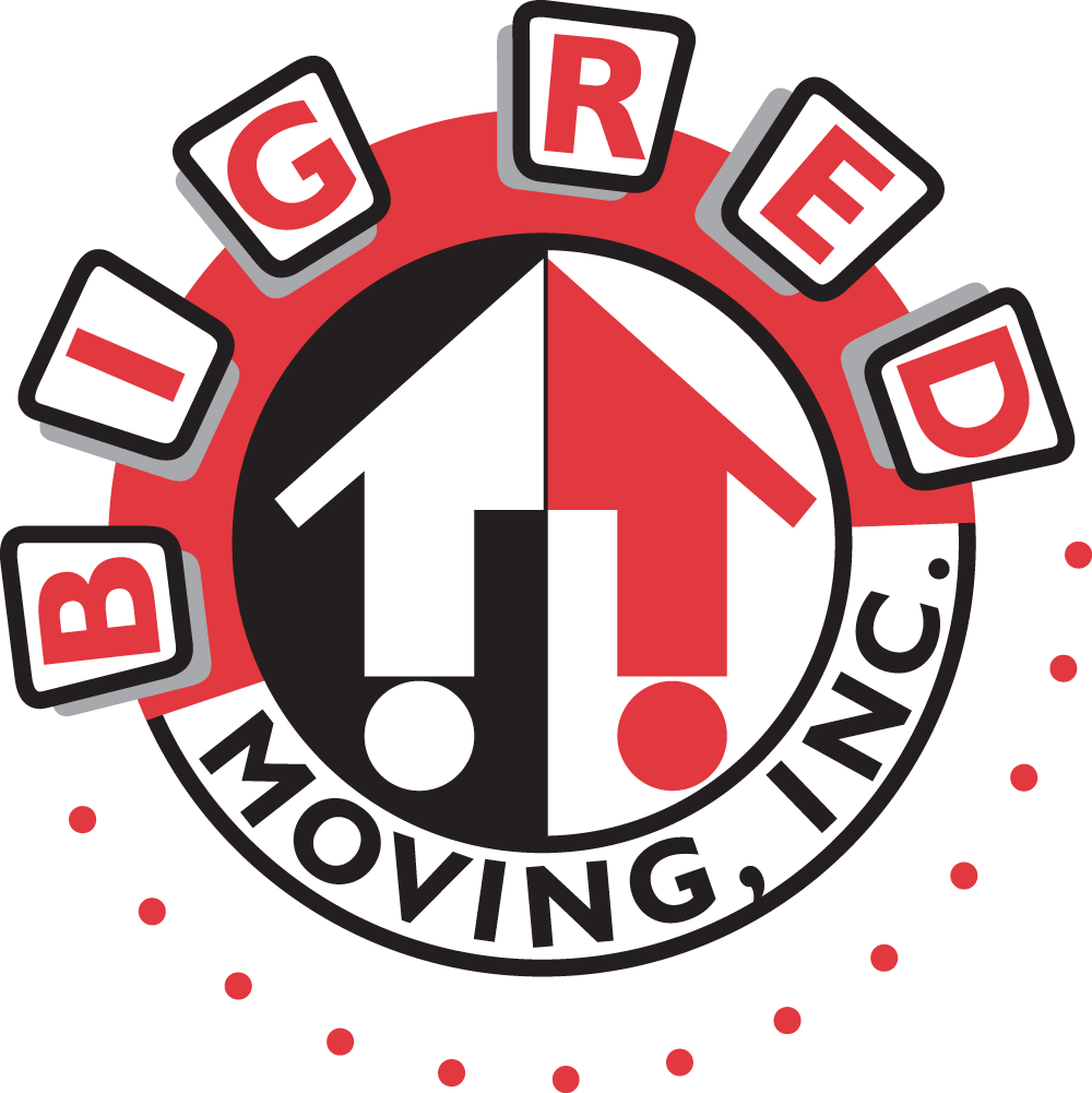 Big Red Moving Logo