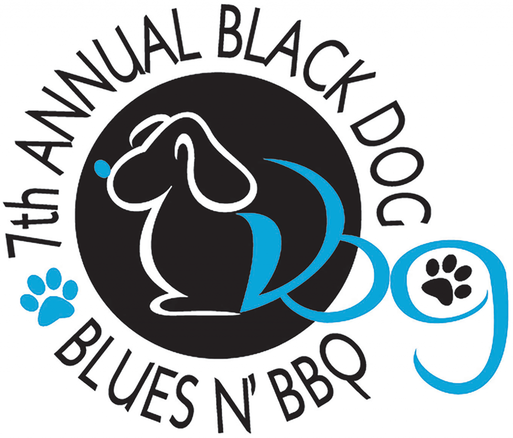 Black Dog Blues N' BBQ Fundraiser Logo