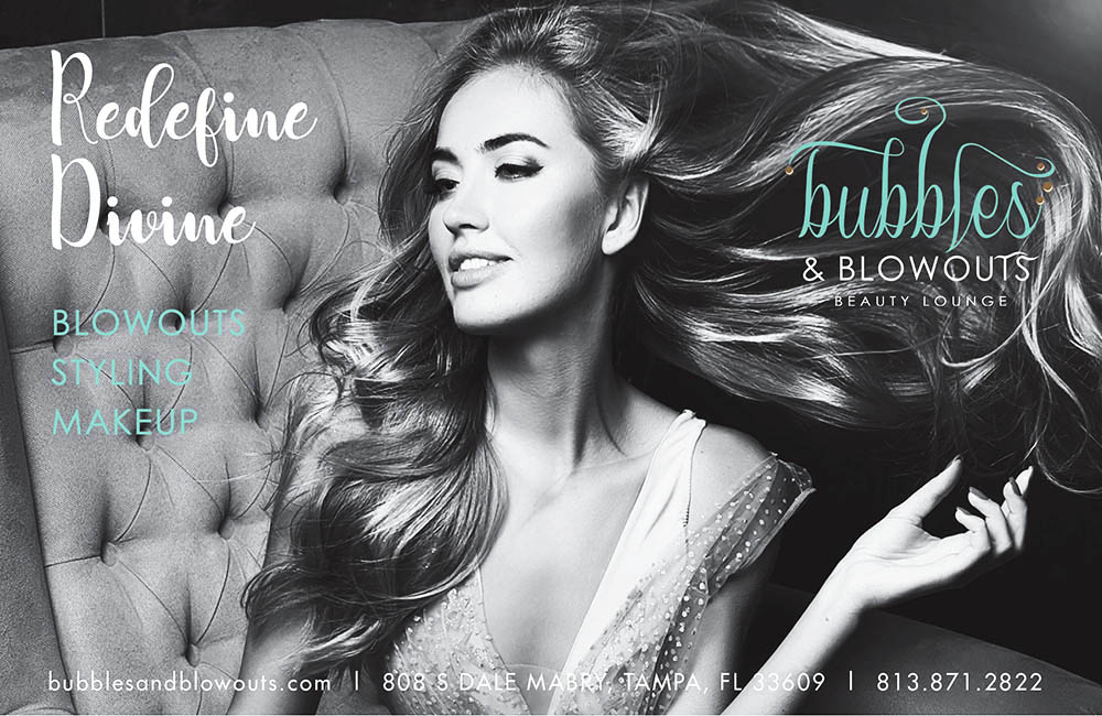 Bubbles and Blowouts Ad
