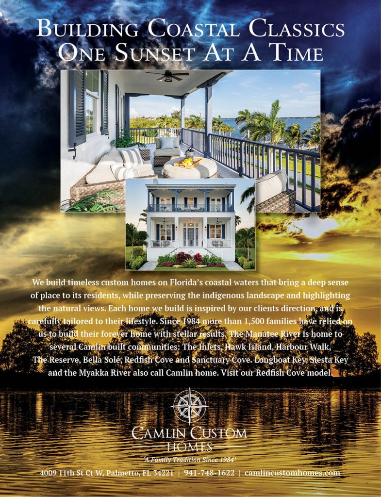 Camlin Custom Homes Full Page Ad