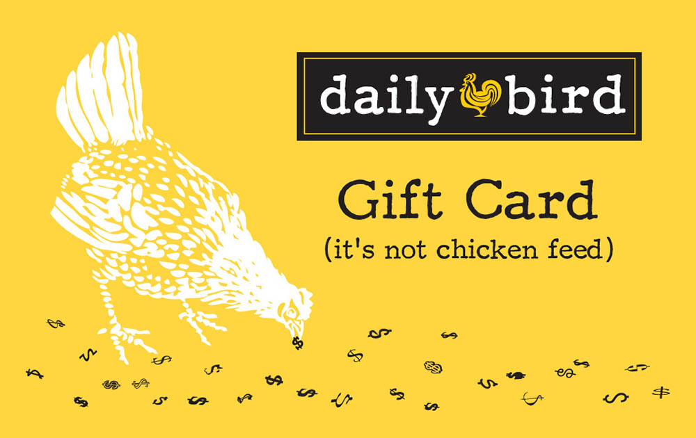 Daily-Bird Gift Card