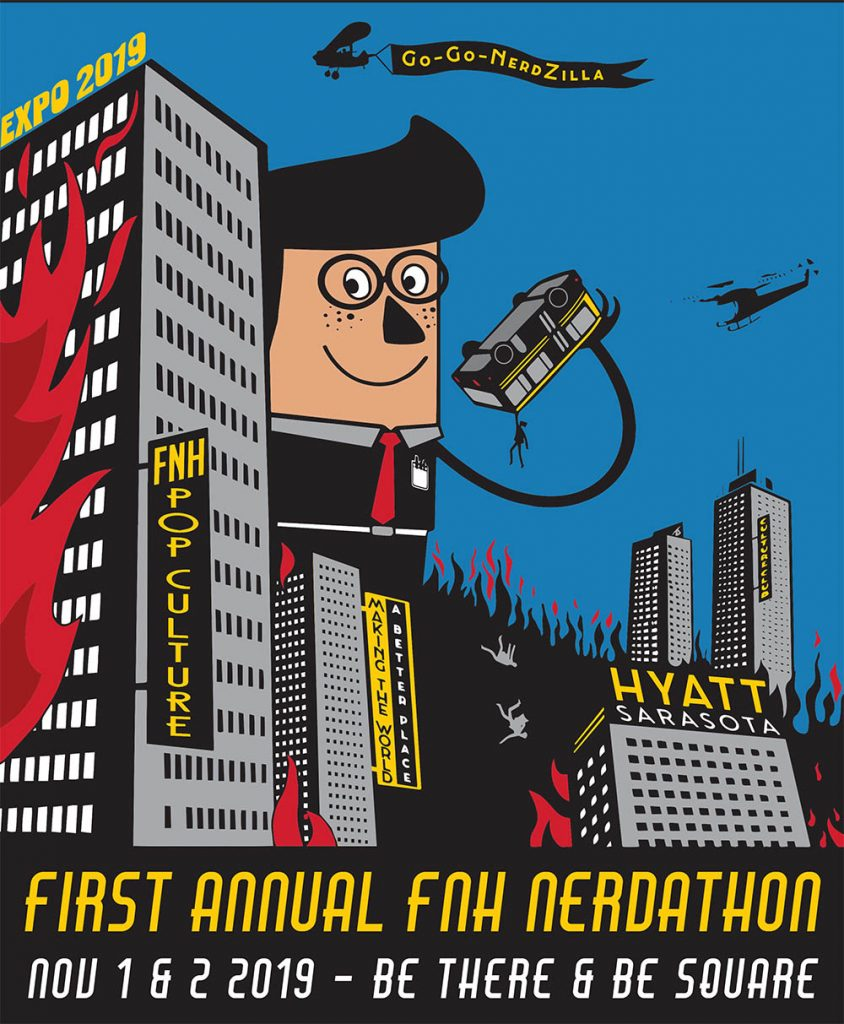 FNH Expo Nerdathon - Poster