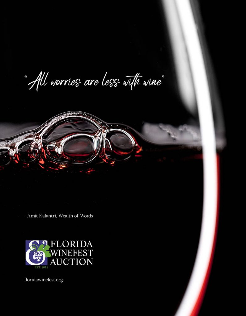 Florida Winefest & Auction Ad
