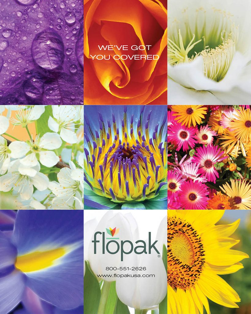 Flopak Floral Products Ad