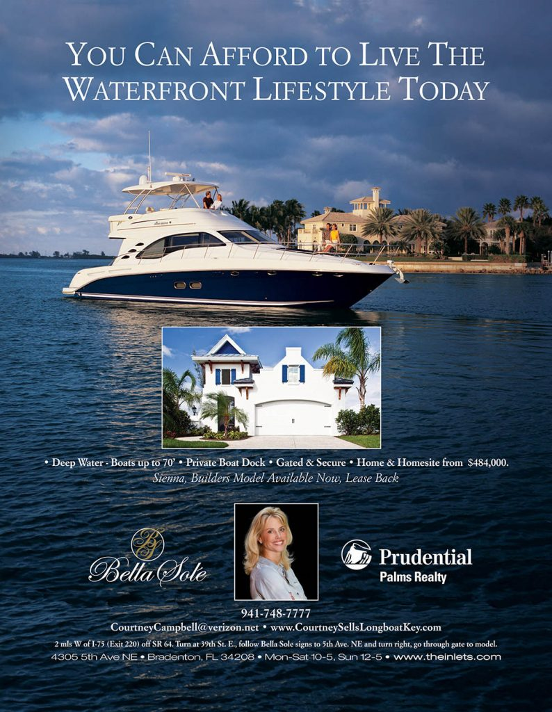 Bella Sole Waterfront Ad