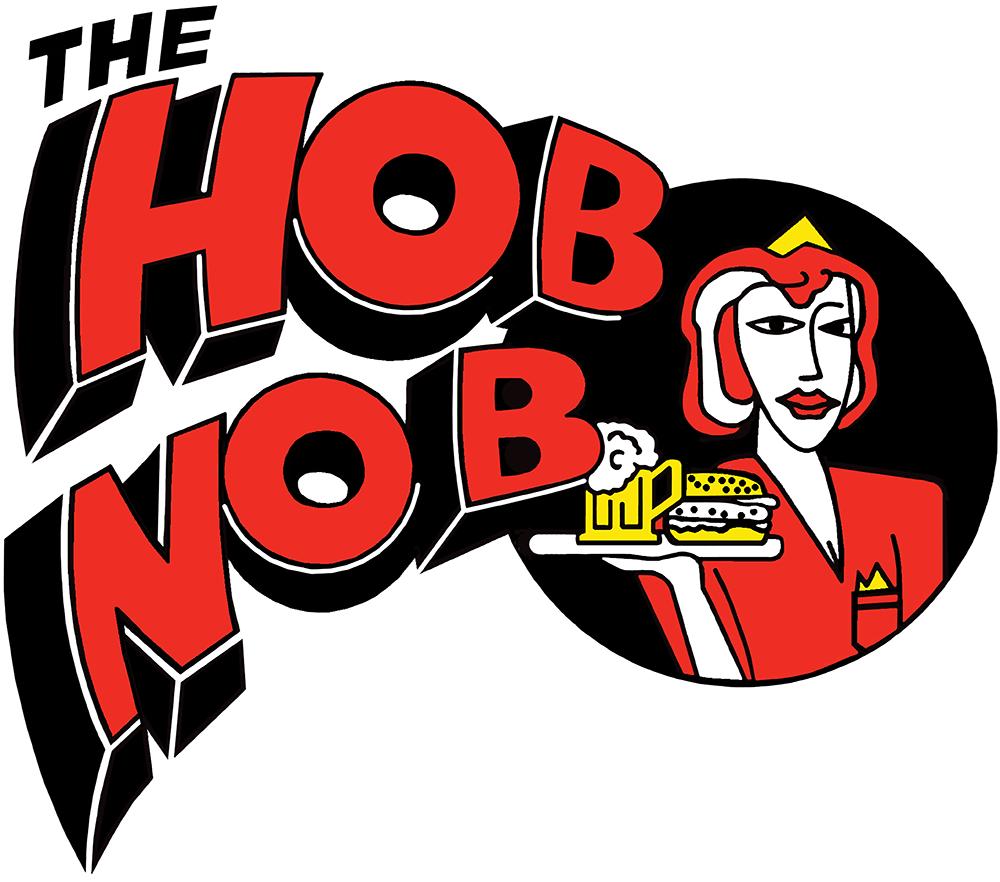 The Hob Nob Diner Logo