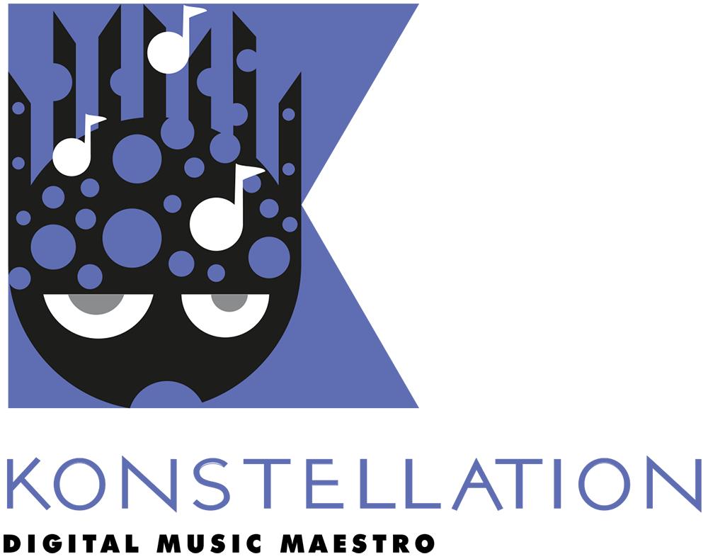 Konstellation Digital Music Artist Logo