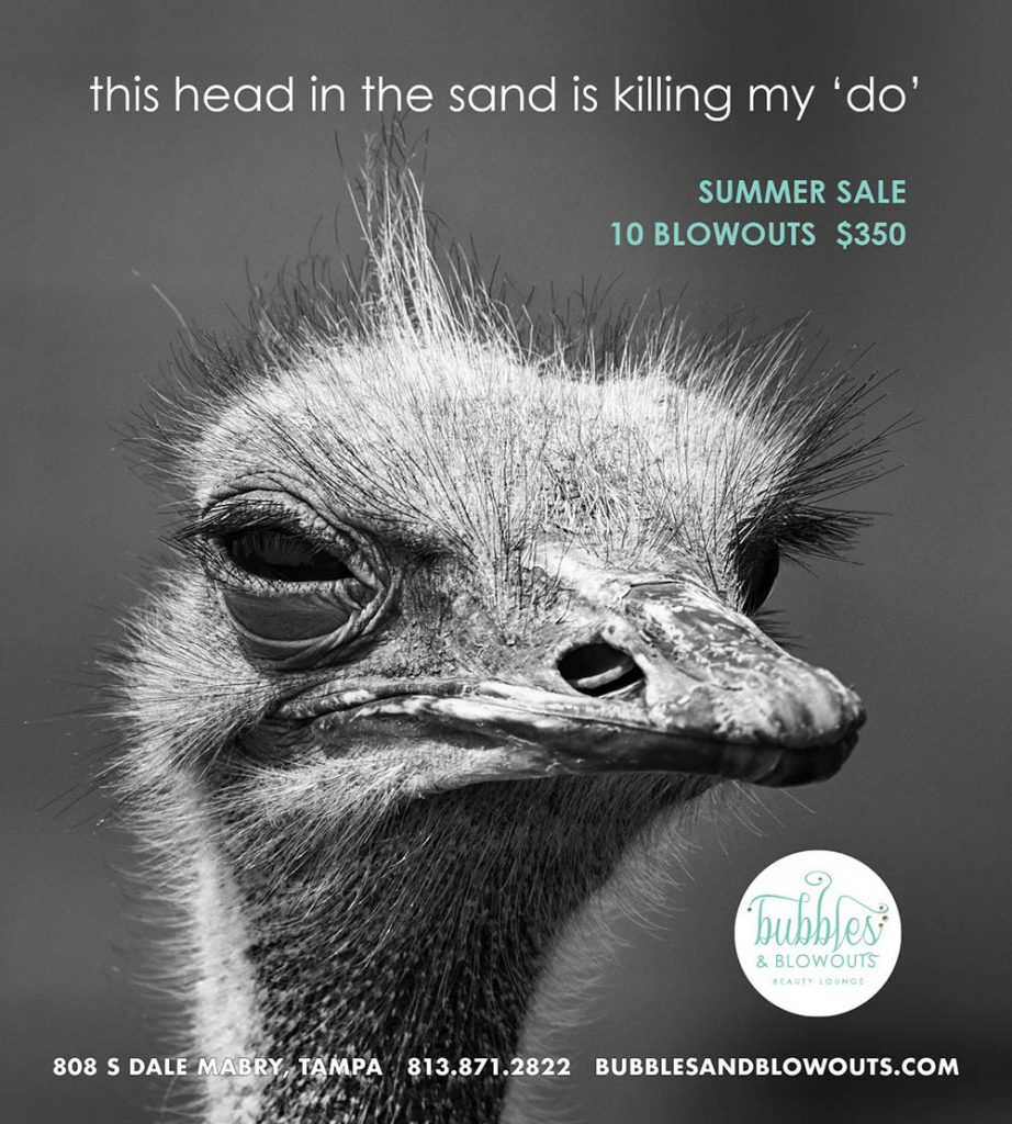 Bubbles and Blowouts - Head in the Sand Ad