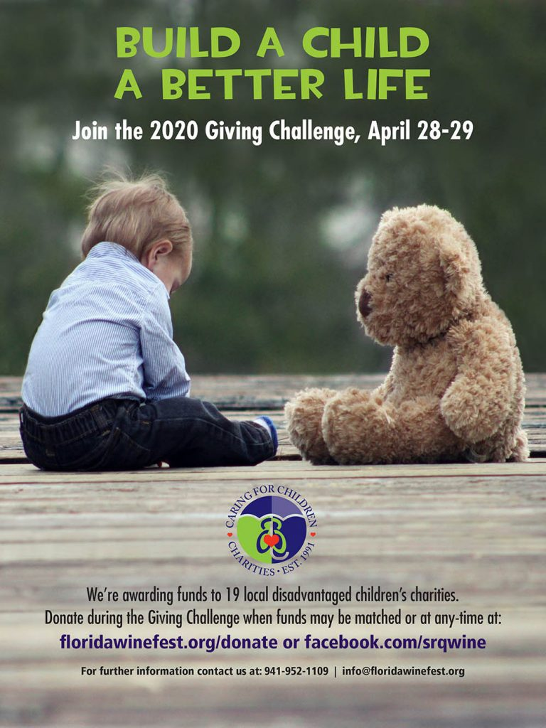 Build a Child a Better Life - Giving Challenge Ad FWFA