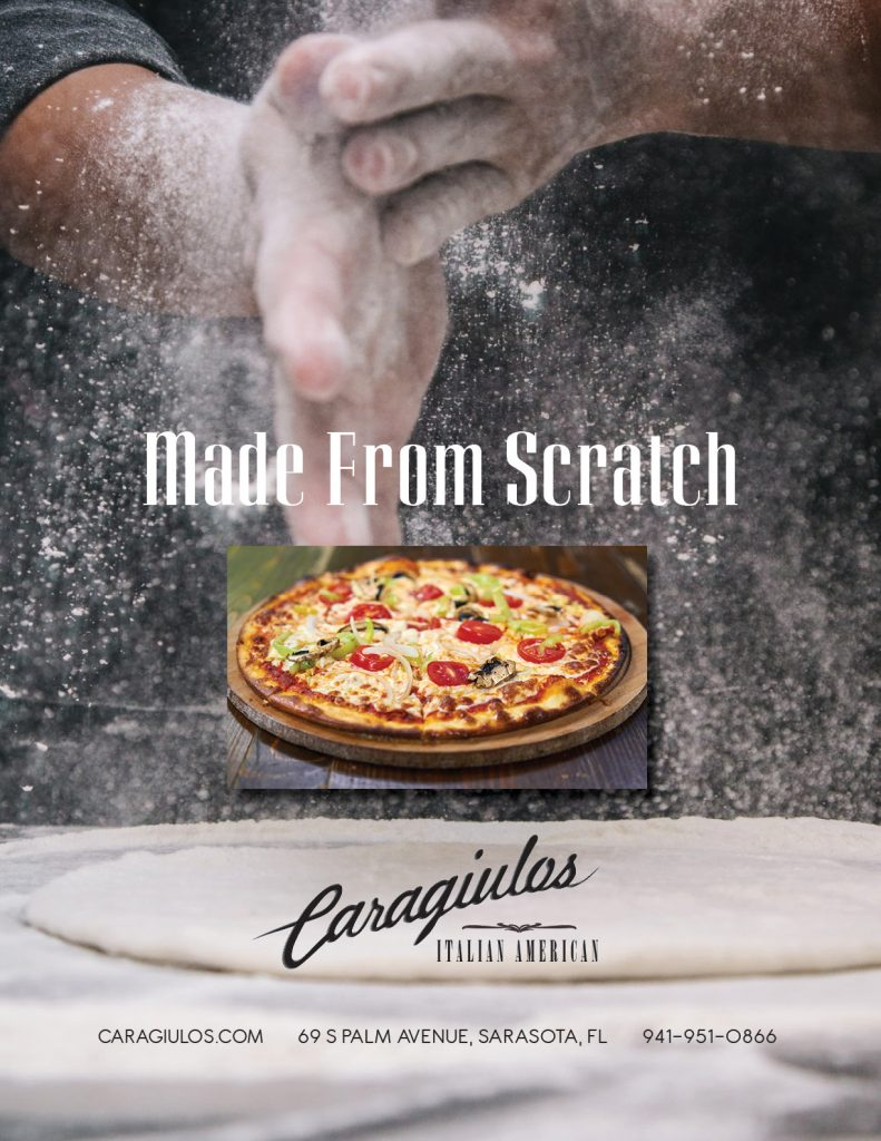 Caragiulos - Made from scratch - Sarasota Magazine Ad