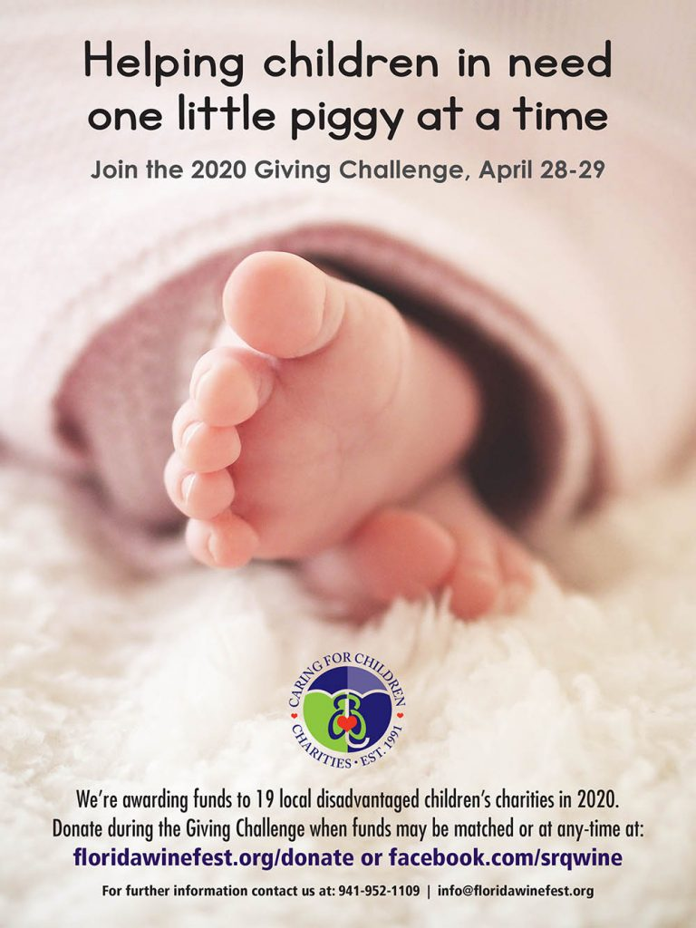 Helping Children One Little Piggy at a Time - Giving Challenge Ad FWFA