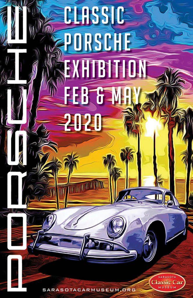 Sarasota Classic Car Museum - Porsche Exbihition Poster