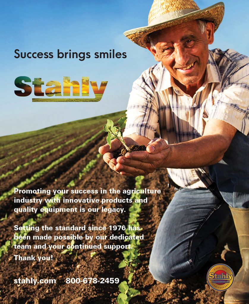 Stahly - Success brings smiles - crop Life Magazine Ad